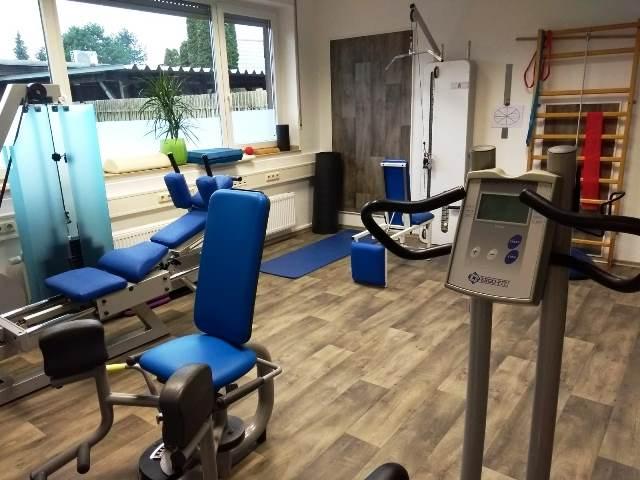 Fitnessraum EMS-Gesundheitskonzept Lucke